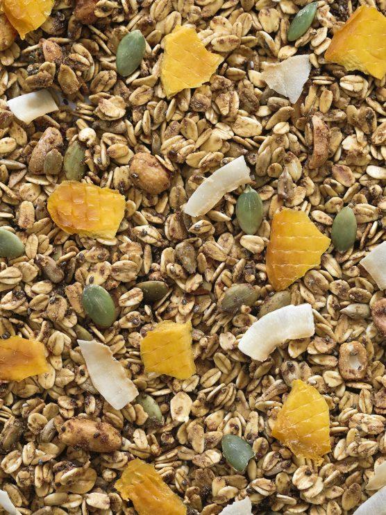 ddetalle granola tropical mango