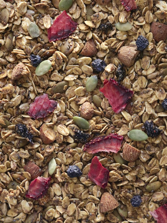 detalle granola berries
