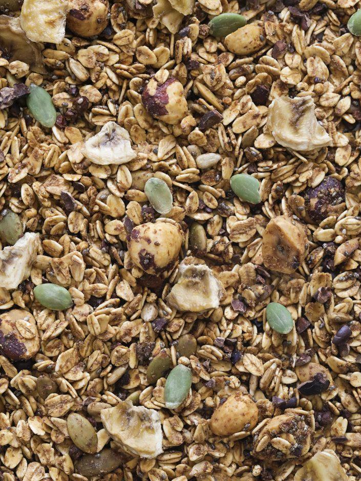 detalle granola healthy nutella