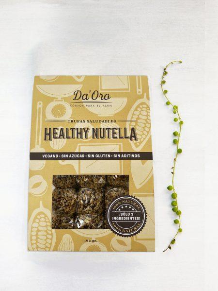 trufas healthy nutella