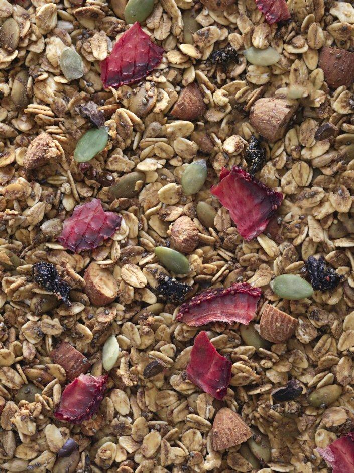 detalle granola choco berry