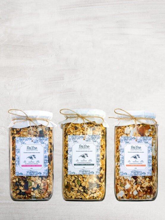 pack trilogia granolas